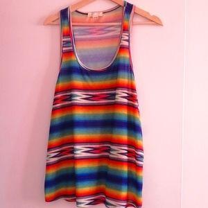 XXI COLORFUL camisole size large